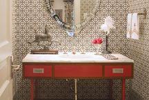 Home: Bath: Powder Room & Secondary Baths  / by Lauren V