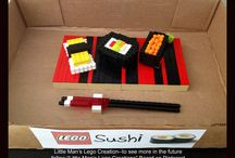 """Little Man's Lego Creations / Creations made with Legos by my """"Little Man""""."""