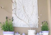 Mantel art pieces / how on earth will i decide. / by Naturally Made { Emily Habel }