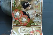 by Yvonne Vintage kaarten