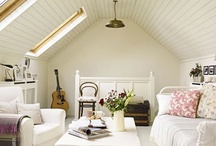 Ideas for Attic Bedrooms and Bathrooms / Ideas for rooms with sloped ceilings ranging from attic bedroom ideas to attic bathroom ideas!