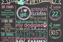 Aniversários De 1 Ano