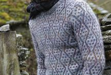 Men´s knitted pullovers