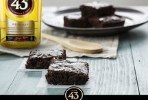 Sweet recipes / Sweets, chocolate, muffins, brownies
