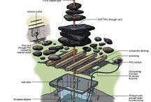 Jak vytvořit zahradní fontánu