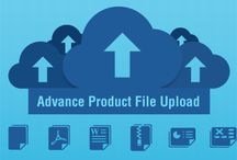 Advance Product File Upload Extension / Add various types of files to your e-store leveraging file uploader #extension, giving cutting edge and improved user experience to your customers.