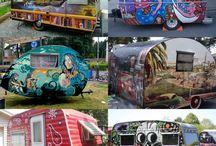 caravans and campers