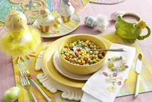 Easter Inspires / From dying eggs, to Easter egg hunts, to whimsical place-setting, Easter is the stage for the start of Spring.