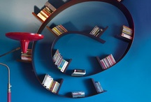Bookshelves and home libraries / by Pauline Paulette