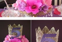 my princess  party ideas