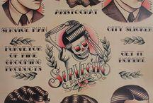 Posters / publicidad grafica , arte