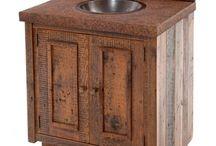Rustic Vanities / by Woodland Creek Furniture