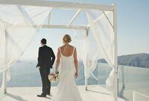 Jewish wedding  in rocabella,  santorini / A Jewish wedding ceremony   in Santorini