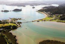 Waitangi - Aeriel View / Waitangi from the sky