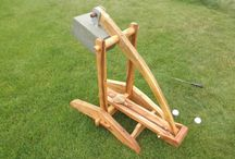 Wooden contraptions