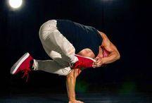 Handstand And Yoga / Handstand Yoga Breakdance Gym Motivation Fitness