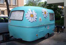 hippy caravan en campers