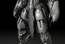 falcon project 3d cyberpunk
