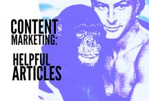 Content Marketing - Hepful Articles / Lots of good stuff out there. But lots of bad stuff, too. Here I select the good resources - the stuff that makes for human-friendly, or in this case, monkey-friendly, content marketing. I'll do the reading so you don't have to.  / by Ken Carroll Content Marketing
