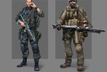 Soldiers Concept Art and References