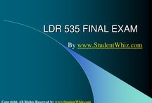 LDR 535 final exam answers