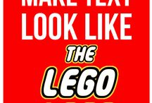 Lego uitnodiging