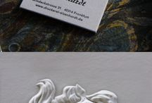 business card inspiration printed