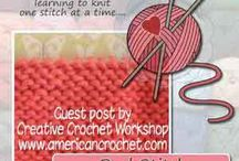 American Crochet Tutorials / Crochet and Knit - Photo and Video Tutorials on American Crochet