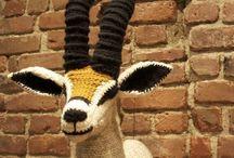 Animal Head Crochet