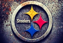Steel / Pittsburgh and the Steelers / by Amy Thrasher