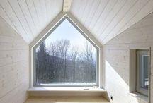 interior wood house
