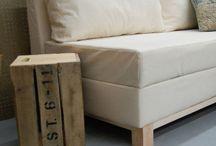 HACER MUEBLES-BRICO / Tutoriales e ideas para hacer muebles
