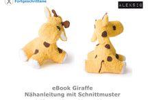 eBook Giraffe / Nähbeispiele für mein eBook Giraffe