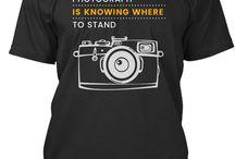 Photograph Tshirt / Photography Tshirt Men & Women
