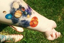 Space tattoo