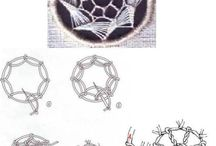 Embroidery: needle lace