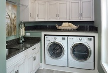 Laundry Room Ideas / by Nicole Goodyear