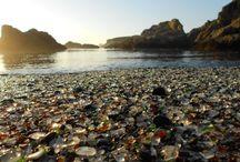 Sea Glass Beaches