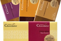 Luxury British Dessert Chocolate Bars / The expertise of Martins Chocolatier is continued with our fantastic new range of premium chocolate bars. An unrivalled selection of the finest Belgium chocolate bars themed on Classic British desserts lovingly put together in the Martins Chocolatier Luxury Dessert Gift Pack.