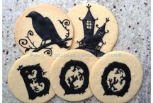 Sugar Happy Cookies: Fall Cookies / All things fall... back-to-school, Halloween, Thanksgiving, football...