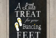 Kovach / Some cute sayings for flipflop baskets