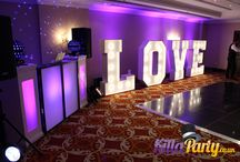 HUGE LED LOVE Letters / Marquee Letters can be used at any event. They look great and the pictures you will get from them is well worth the hire cost. These are all my own Letters and mostly my own pictures or photographers who I have worked with. Available at www.killaparty.co.uk