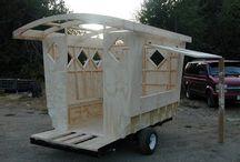 Gypsy wagons & sheds
