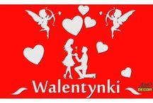 Walentynki / Ciekawa propozycja dla dekoratorów i wszystkich, którzy szukają efektownych i ekonomicznych rozwiązań.