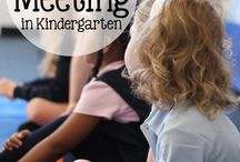 Kindergarten morning meeting / by Lorie Kesey