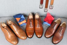 Cognac color shoes / https://www.facebook.com/media/set/?set=a.10152398327834844.1073742167.94355784843&type=1  #mtm #madetomeasure #buczynski #buczynskitailoring #shoes #cognacshoes #derbyshoes #semibrogueshoes