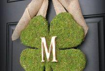 St Patricks Day Home Decor