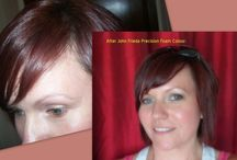 Before and After: Hair Color