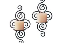 Decorative Candles / Add these unique candles to your fall decorating for a beautiful, warm glow.