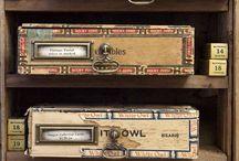 Cigar Box Crafts / by Ashley Jennings